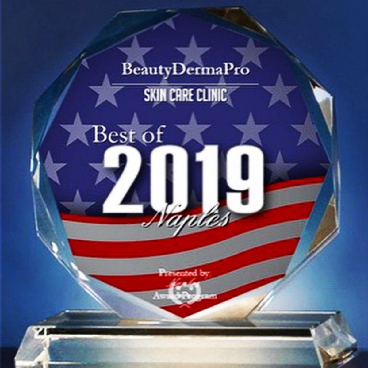 BeautyDermaPro Receives 2019 Best of Naples Award